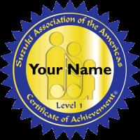 Certificate Achievement Logo Sample