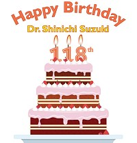 118th Birthday Cake