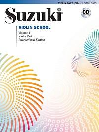 Suzuki Violin School Book Cd