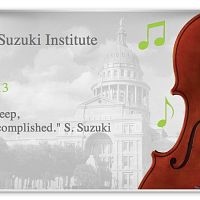 Greater Austin Suzuki Institute at St. Edwards University 2013