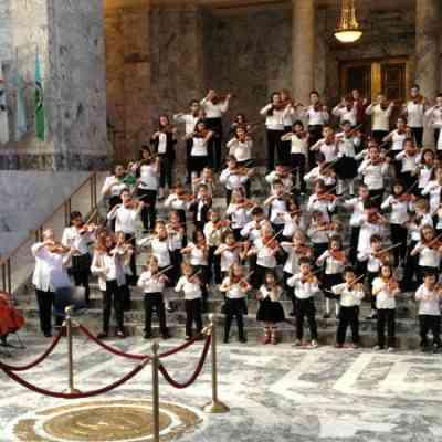 Suzuki Concert at the Washington State Capitol