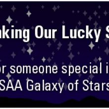 Thanking Our Lucky Stars: Honor someone special in our SAA Galaxy of Stars