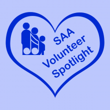 SAA Volunteer Spotlight Patricia  Michael Brown