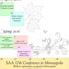 Upcoming April & May Calendar
