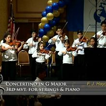 Concertino in G Major, 3rd mvt