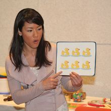 Pictures from Suzuki Early Childhood Education Baby Class in Austin Texas January 2012