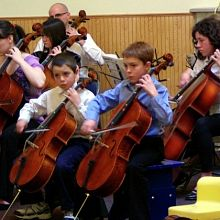 Group Cello Benefit Concert