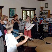 Suzuki Flute Workshop in Tanzania
