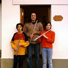 Four flutes donated to Latin American Suzuki flute projects