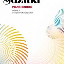 Revised Suzuki Piano Books 1-3