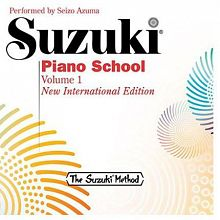 Suzuki Piano School Volumes 1-7 Digital Audio and eBooks Now Available