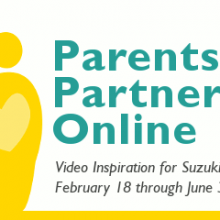 Suzuki E-News #54: Parents as Partners Online, Scholarship Applications