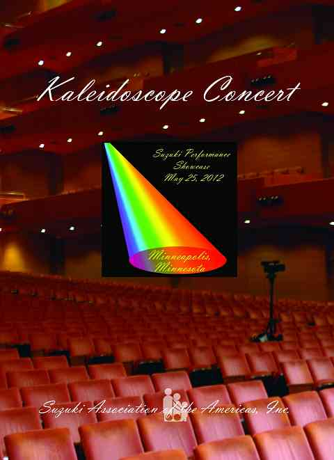 Kaleidoscope Concert Digital Download