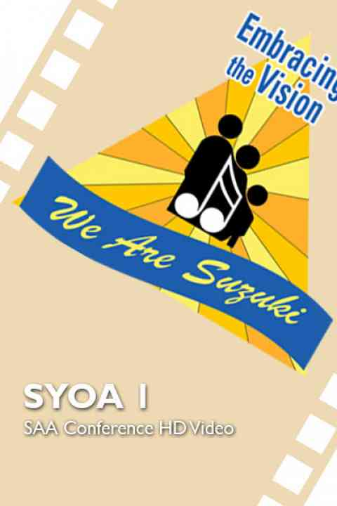 2016 SAA Conference - SYOA 1 - HD