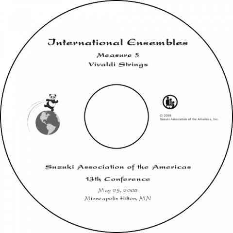 International Ensembles Concert 2008 DVD