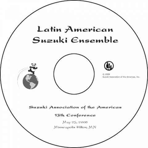 Latin American Suzuki Ensemble Concert 2008 DVD