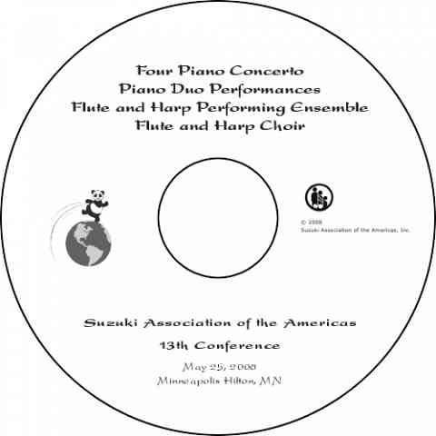 Flute / Harp / Piano Concert 2008 DVD
