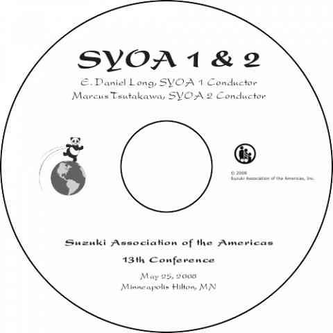 SYOA Concert 2008 DVD