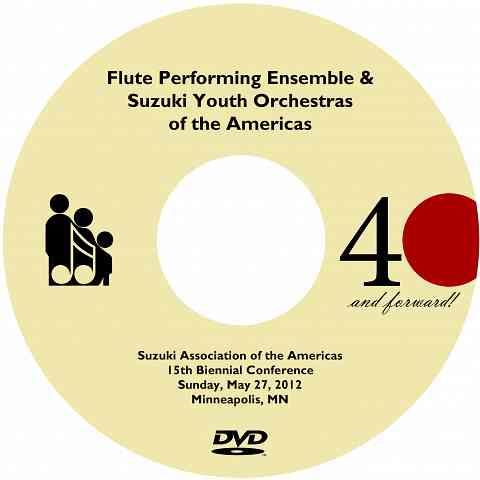 SYOA & Flute Ensemble Concert 2012 DVD