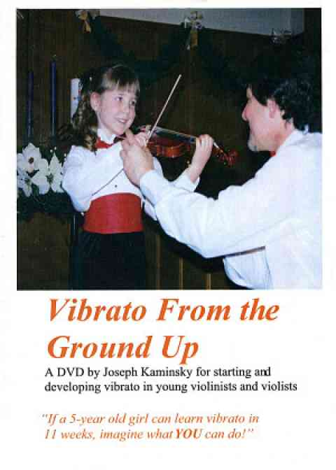 Vibrato from the Ground Up DVD