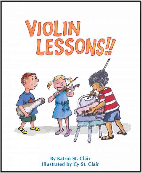 Violin Lessons!! Storybook