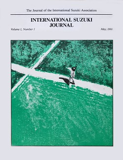 ISA Journal Volume 1, Issue 1