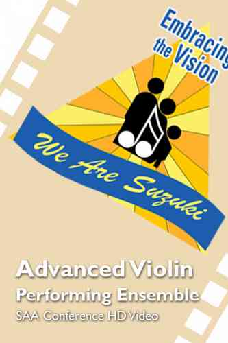 SAA Conference 2016 - Advanced Violin Performing Ensemble - HD