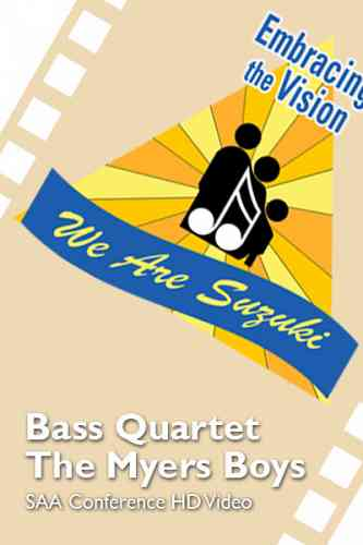 SAA Conference 2016 - Bass Quartet -The Myers Boys - HD