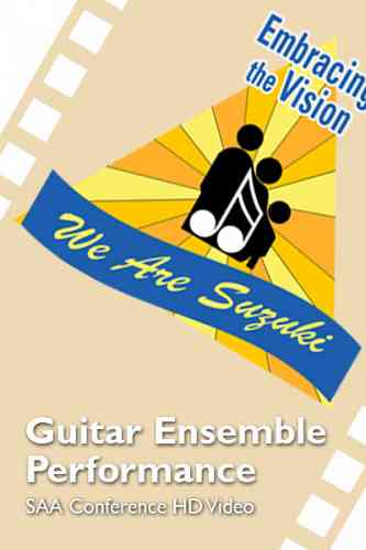 2016 SAA Conference - Guitar Ensemble  Performance - HD
