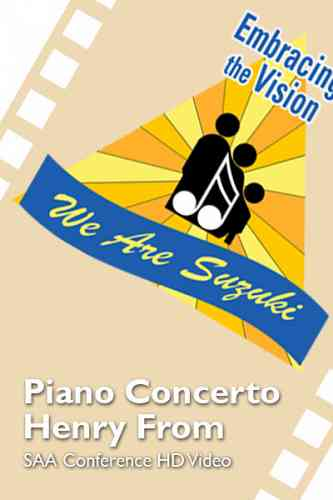 SAA Conference 2016 - Piano Concerto - Henry From - HD