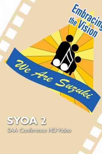 2016 SAA Conference - SYOA 2 - HD