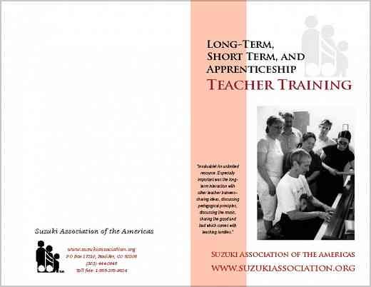 Long-Term (University) Training Brochure