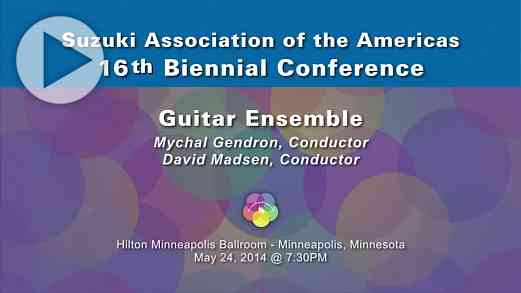 Guitar Ensemble—Conference 2014