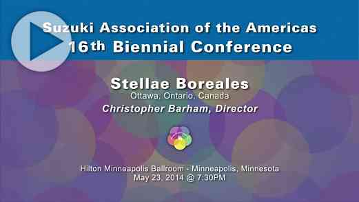 Stellae Boreales—Conference 2014
