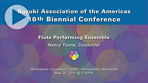 Flute Performing Ensemble —Conference 2014