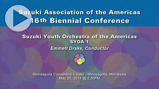 SYOA 1—Conference 2014