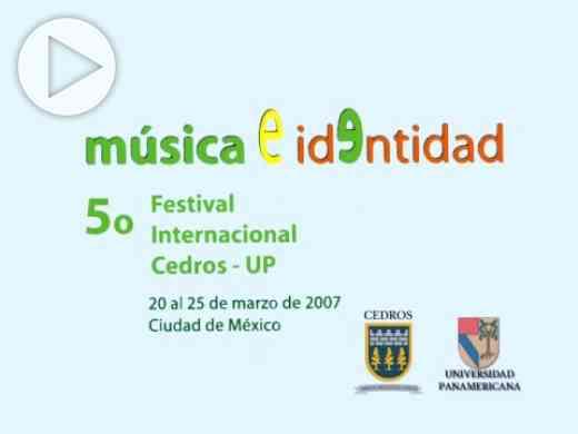 5o Festival Internacional Cedros—UP