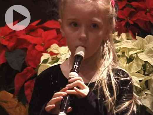 Suzuki Recorder Student Performances