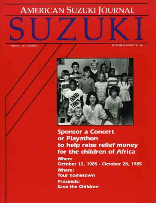 American Suzuki Journal volume 13.5