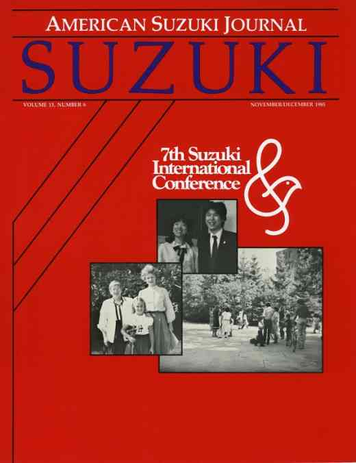 American Suzuki Journal volume 13.6