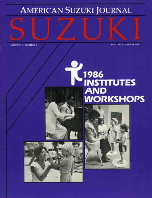 American Suzuki Journal volume 14.1
