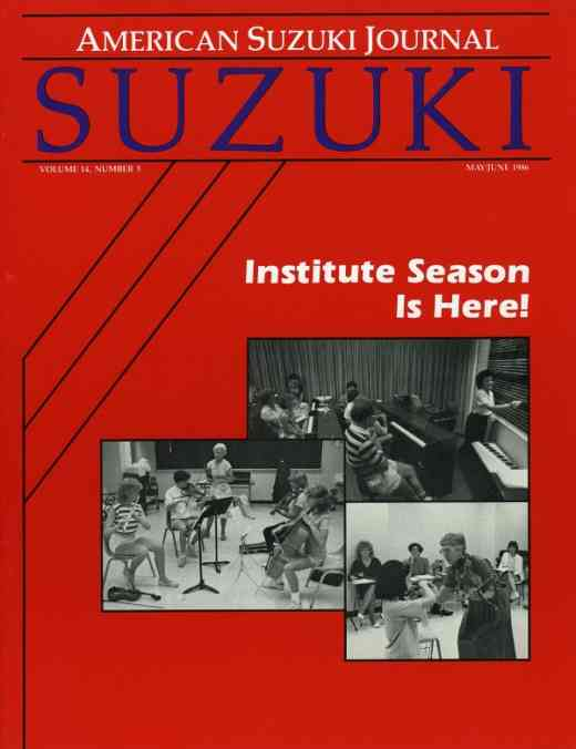 American Suzuki Journal volume 14.3