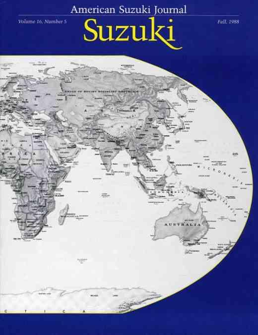 American Suzuki Journal volume 16.5
