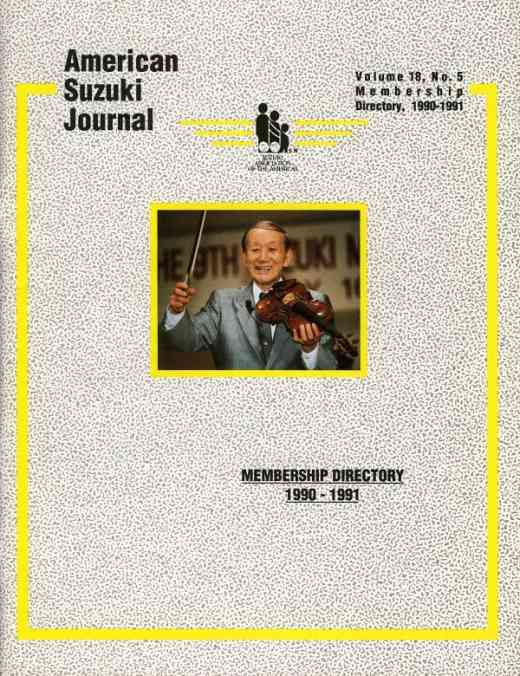 American Suzuki Journal volume 18.5