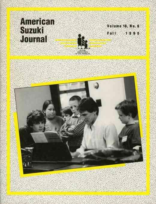 American Suzuki Journal volume 18.6
