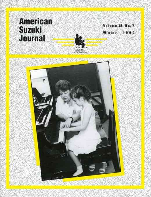 American Suzuki Journal volume 18.7
