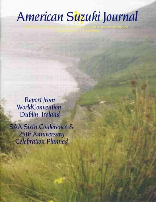 American Suzuki Journal volume 24.1