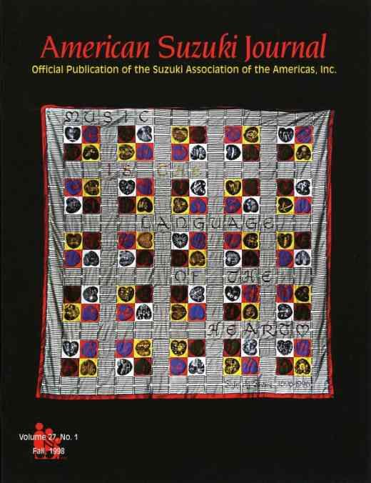 American Suzuki Journal volume 27.1