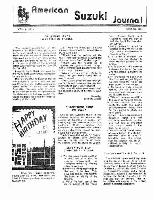 American Suzuki Journal volume 3.4