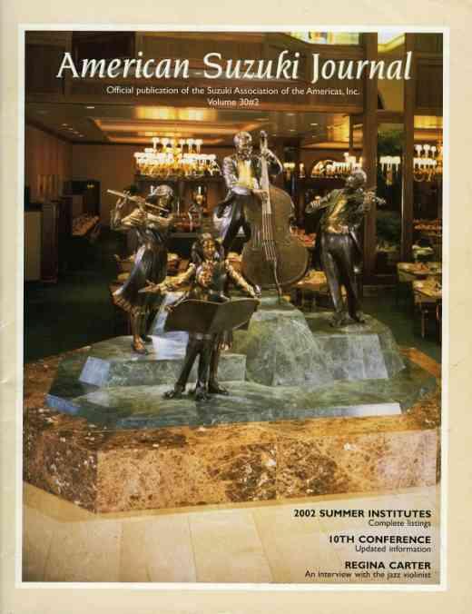 American Suzuki Journal volume 30.2